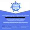 Certified Kubernetes Application Developer (CKAD) 試験に合格しました