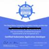 Certified Kubernetes Application Developer (CKAD) 試験に合格しました