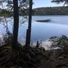 絶景の天上湖より