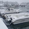 係留船舶の積雪時の注意点について