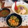 これがシュリンパーズハイってやつか!!ガーリックシュリンプと濃厚なえびスープが生み出す奇跡のマリアージュ!!えびくらぶ濃厚つけ麺熱盛りとシュリンプ丼の巻!!