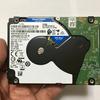 Intel NUC パソコン の HDDを WD Blue WD20SPZX 2TB 7mm に交換した話