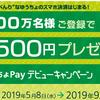 ゆうちょPayで先着100万名様に500円分の現金もらえる!デビューキャンペーンのやり方はどうやるの!?