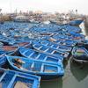 モロッコの漁船