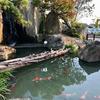 石和健康ランドの池(山梨県石和)