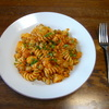 ひよこ豆のパスタ①トマトソース