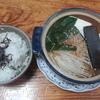 麦飯と榎と豆腐の鍋