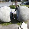 【ART】現代美術家・今井祝雄『連鎖球体』 @大津市役所付近