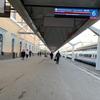 モスクワ駅から高速列車「サプサン号」に乗る! @ サンクトペテルブルク