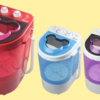 Tiny Portable Washing Machines - A Sustainable Alternative