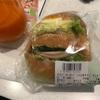 ハイジの白パン ハム&タマゴサンド を食べてみました