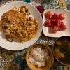 大豆もやしと椎茸のオムレツ