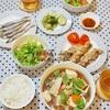 【和食】鶏もも肉使用のおうちごはんの記録/My Japanese Food Using Chicken at Home