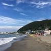 葉山・一色海岸でみたびボディボード