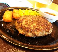 ★チーズインハンバーグ