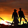 自分で選ぶ、遠別町で撮影した日本海に沈む夕陽やマジックアワーの写真12選。
