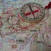 登山には地図とコンパスっていうけど、、やっぱり大事。だけど迷ってから取り出しても遅い。