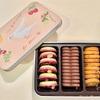 『POMOLOGY ポモロジー』クッキーボックスショコラ缶。ショコラとフルーツが詰まったバレンタインクッキー。