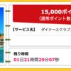 【ハピタス】ダイナースクラブカードが期間限定15,000pt(15,000円)にアップ! さらにもれなく最大60,000ポイントがもらえる新規入会キャンペーンも!