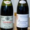 ドミニク・ローランとA.F.グロのポマール1級飲み比べ