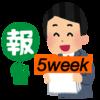 <成果報告>はてなブログ(無料版)初心者高校生の現実:5週目(PV・収益など)