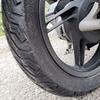 PCX (JF56) の低スペックな純正タイヤを換えた(後篇)