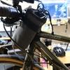 クロスバイクの収納術 ペットボトルホルダーあらためステムバッグ
