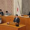 26日、吉田県議が代表質問。憲法、原発問題の知事答弁国に物言わない姿勢は変わらず。議員研修会で福島復興局事務局長が講演。