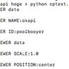 <python>設定情報を別ファイルで管理