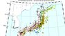 熊本地震も収まらず、ここ1週間で全国的に高レベルの発振。予兆か?