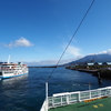 2021乗船ログ(1月分②~火山の麓の穏やかな湾で~)