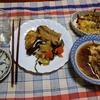 幸運な病のレシピ( 2438 )夜: サワラ・生サバの糠漬け、糠漬けめざしグラタン、牛肉汁、