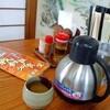 「我部祖河食堂」(名護店)で「ソーキそば(小)」+いなり 530+80円