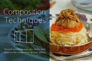 構図と写真と料理の美味しい三角関係と、単調な連続性
