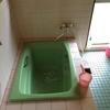 まき風呂の修理