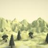 Blenderでローポリの地形を作る