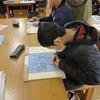 6年生:図工 木版画に集中