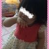 ☆ 手の甲を使って「アババババ」をする 《1歳2ヶ月》