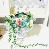【結婚式の定番♪】アーティフィシャルフラワーの手作り花冠