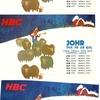 BCL~ ベリカード 『北海道放送(HBC)』