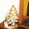 【古道具をアレンジ】木の箱と500円の鏡で「ドレッサーもどき」完成。