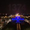 1374機のドローンによる光のショーのクオリティーが凄い!まるでCGのような圧巻のドローンディスプレイに!!