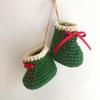 サンタブーツの編み方