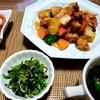 夏野菜の酢鶏のレシピ