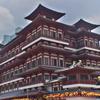 新加坡佛牙寺龍牙院 (The Buddha Tooth Relic Temple and Muse)~チャイナタウンにある寺院と博物館