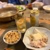 ルーロー飯、名もなき鍋、きゅうり