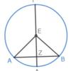 第3巻命題3 弦を二等分する直線