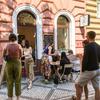 プラハ地元の人で賑わうカフェ Mezi Srnkyで朝ごはん