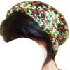 かぎ針でニット帽を編む