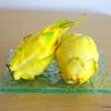 黄色いドラゴンフルーツを購入、試食してみました!